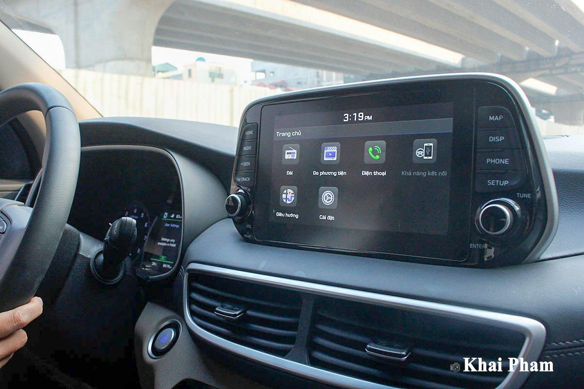 Ảnh Màn hình xe Hyundai Tucson 2020