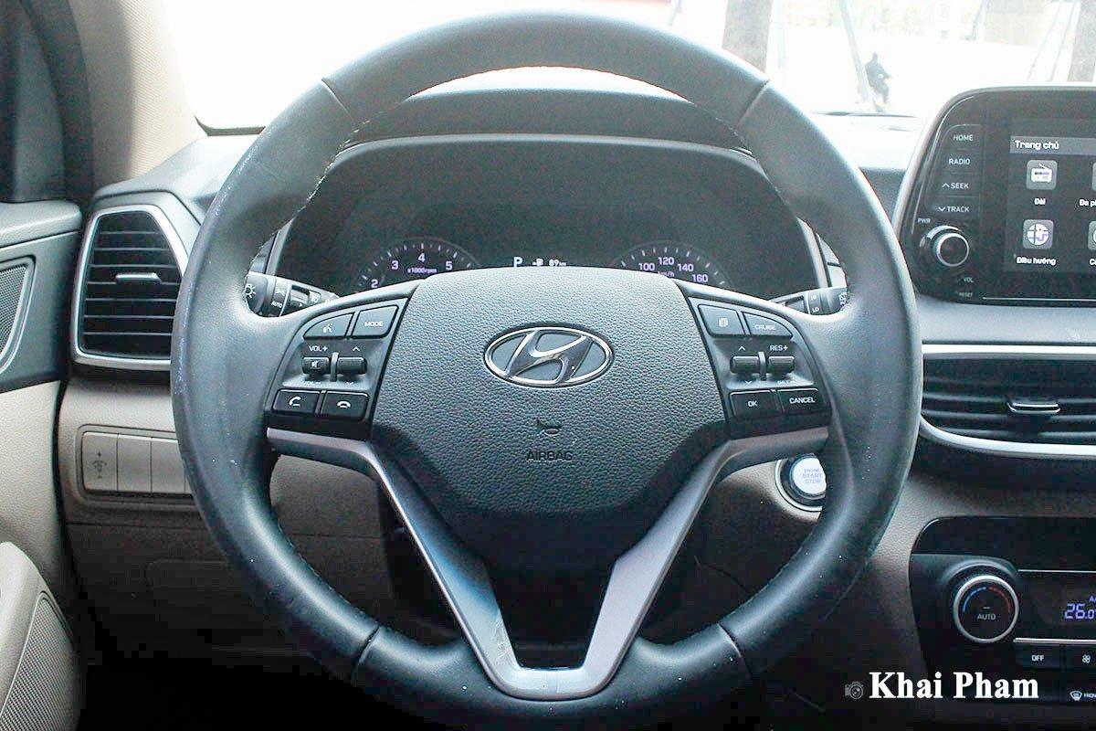 Ảnh Vô-lăng xe Hyundai Tucson 2020