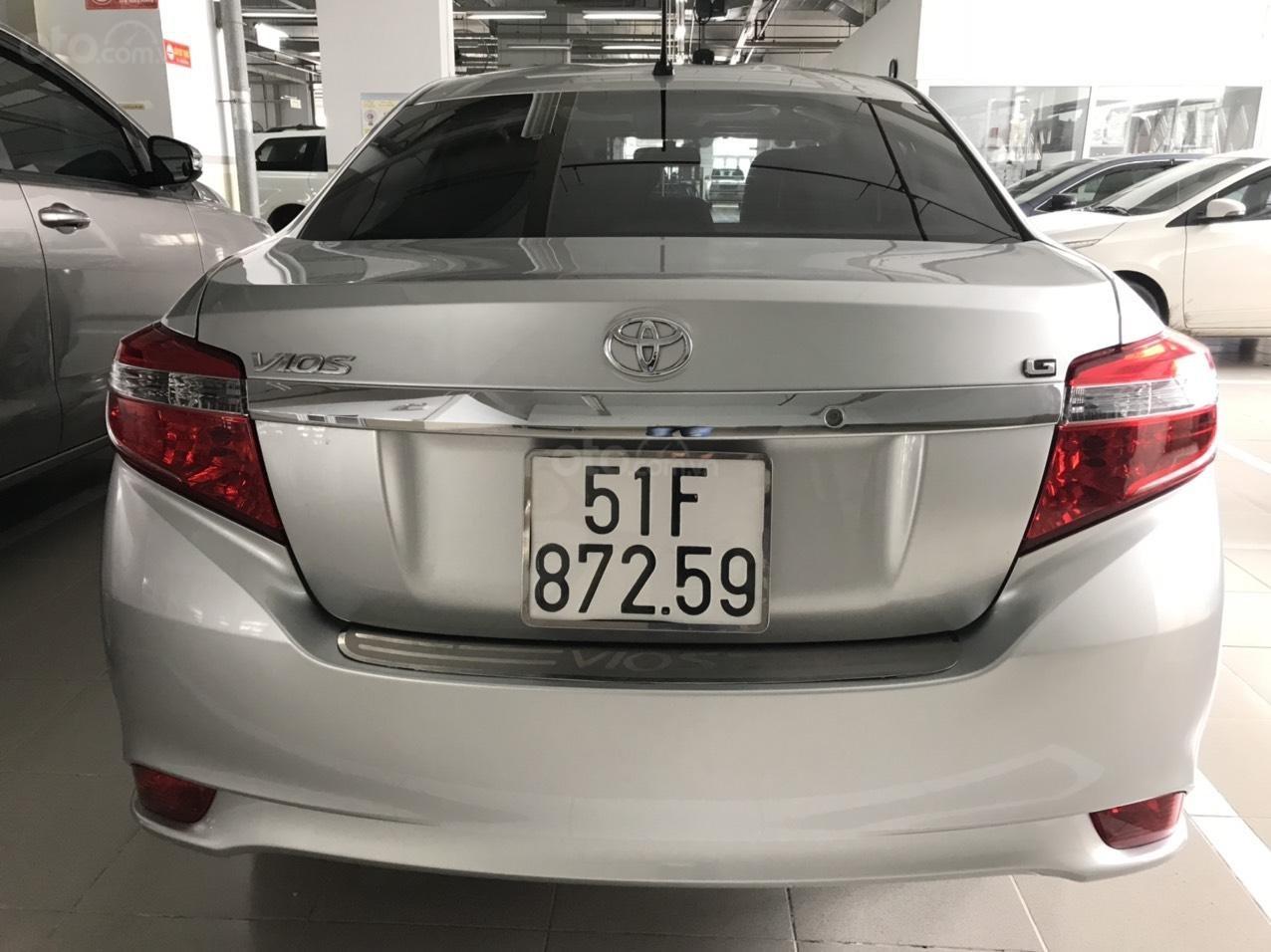 [Chính chủ] Bán Toyota Vios năm 2017, giá cực ưu đãi chỉ 450 triệu (4)