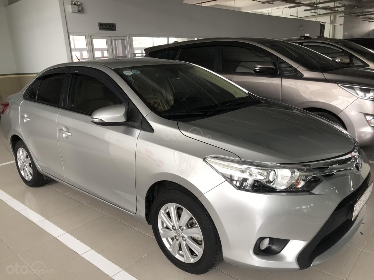 [Chính chủ] Bán Toyota Vios năm 2017, giá cực ưu đãi chỉ 450 triệu (1)
