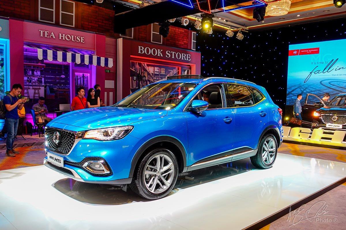 MG HS 2020 mới chính thức ra mắt thị trường Việt 1