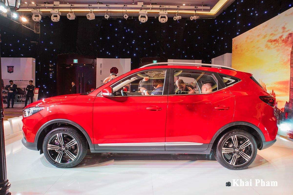 Ngoại hình tổng thể xe MG ZS 2020 1