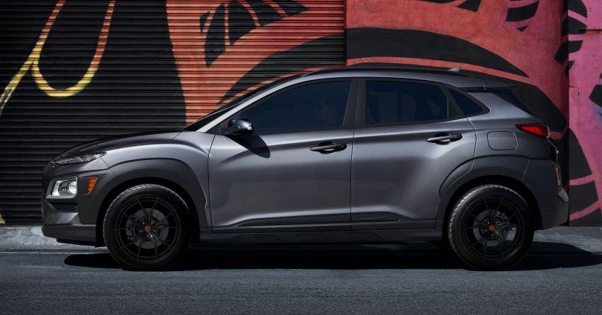 Hyundai Kona Night Edition 2021 huyền bí.