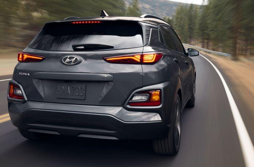 Hyundai Kona Night Edition 2021 bắt mắt.