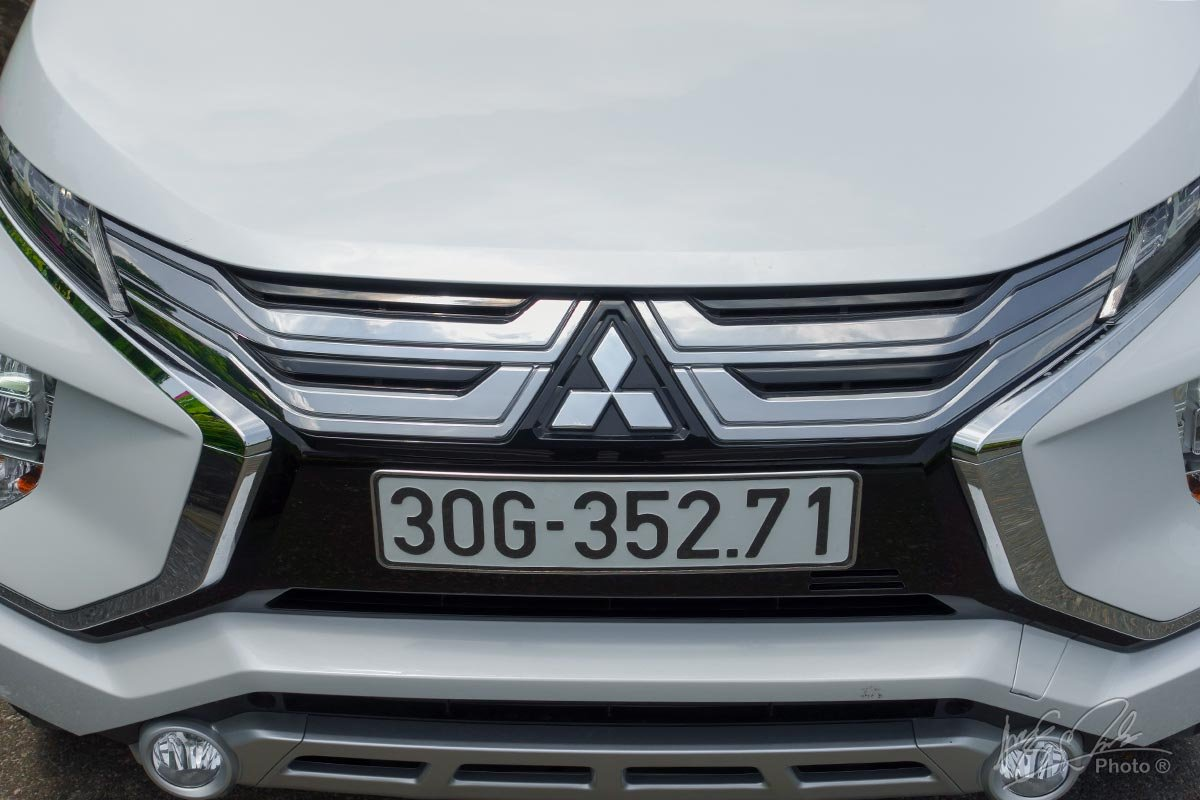 Đánh giá xe Mitsubishi Xpander 2020: Lưới tản nhiệt mới.