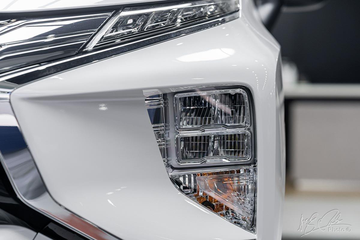 Đánh giá xe Mitsubishi Xpander 2020: Đèn pha LED dạng tầng.