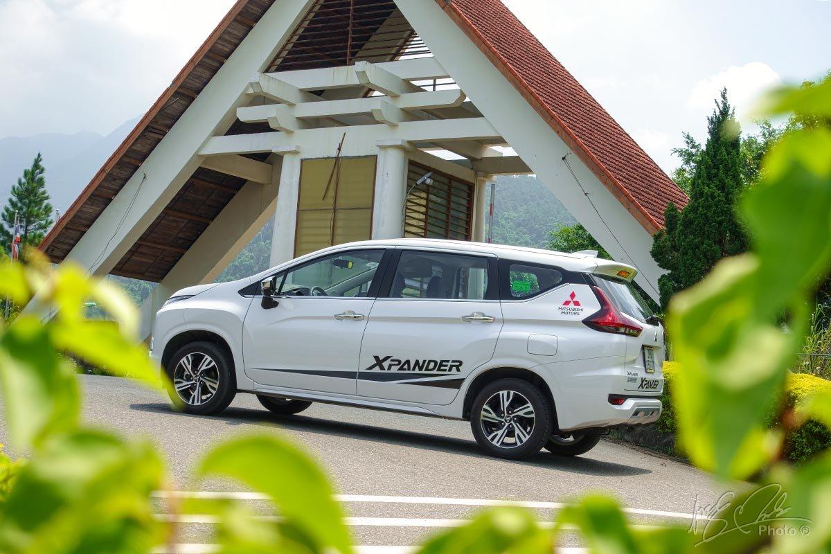 Đánh giá xe Mitsubishi Xpander 2020: Thiết kế thân xe không thay đổi.