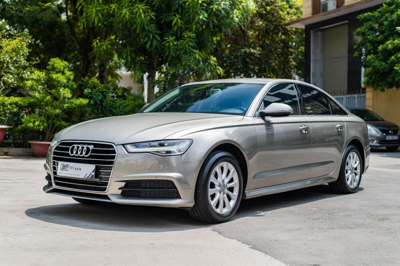 Cần bán xe Audi A6 1.8 TFSI sản xuất 2016, đăng kí 2017, biển Hà Nội (3)
