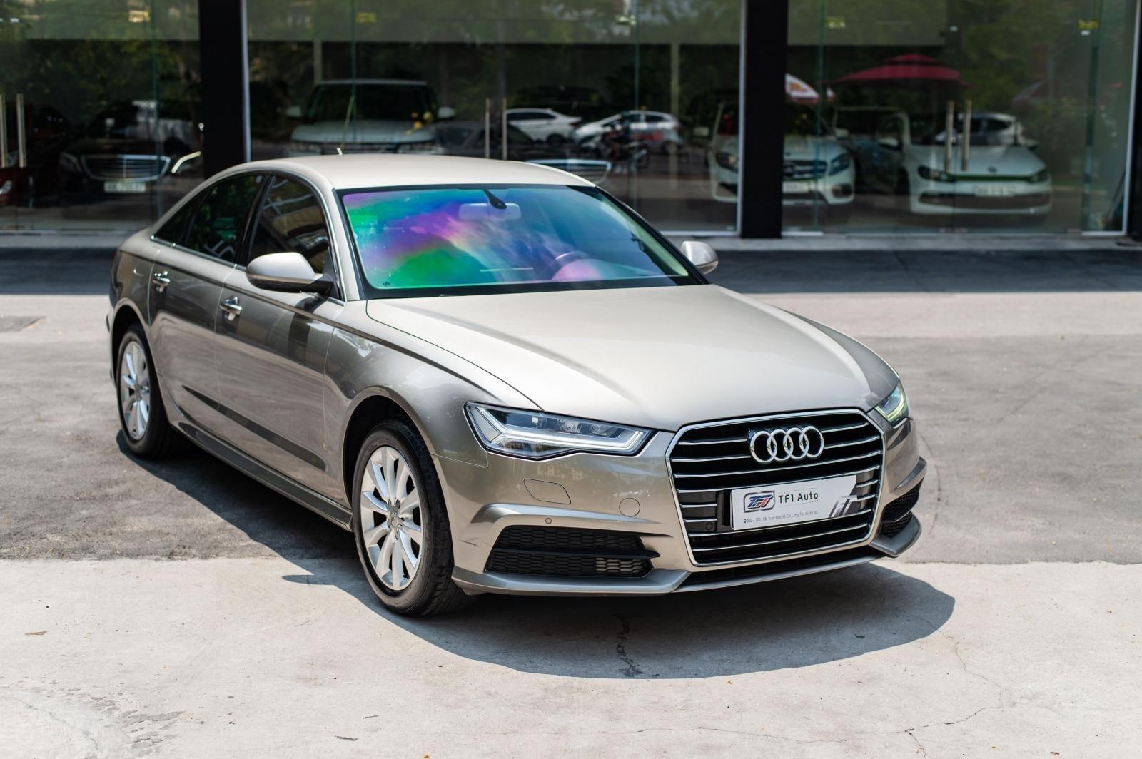 Cần bán xe Audi A6 1.8 TFSI sản xuất 2016, đăng kí 2017, biển Hà Nội (1)