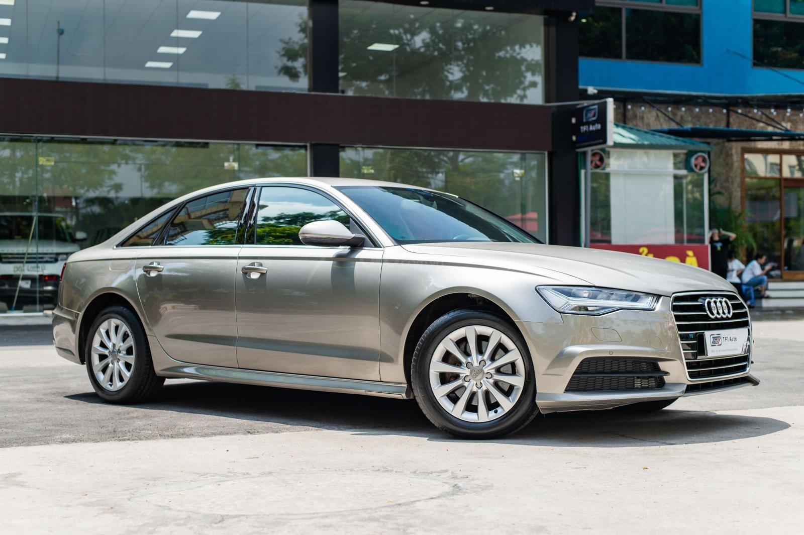 Cần bán xe Audi A6 1.8 TFSI sản xuất 2016, đăng kí 2017, biển Hà Nội (6)