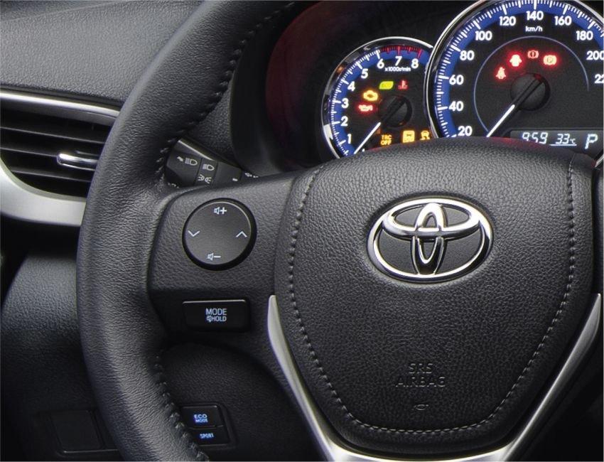 Toyota Vios 2021 tích hợp thêm các tính năng nâng cấp hiện đại.
