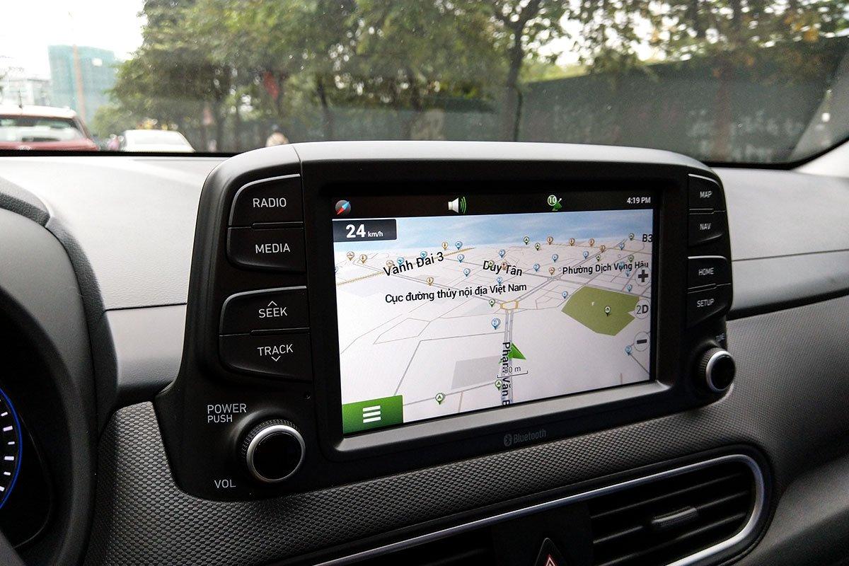 Ảnh Màn hình xe Hyundai Kona 2020