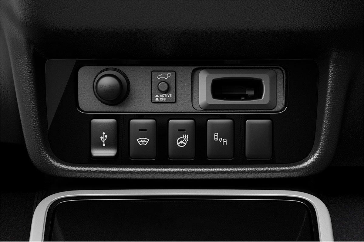 Các tính năng mới trên Mitsubishi Outlander 2020 2.4 CVT Premium.