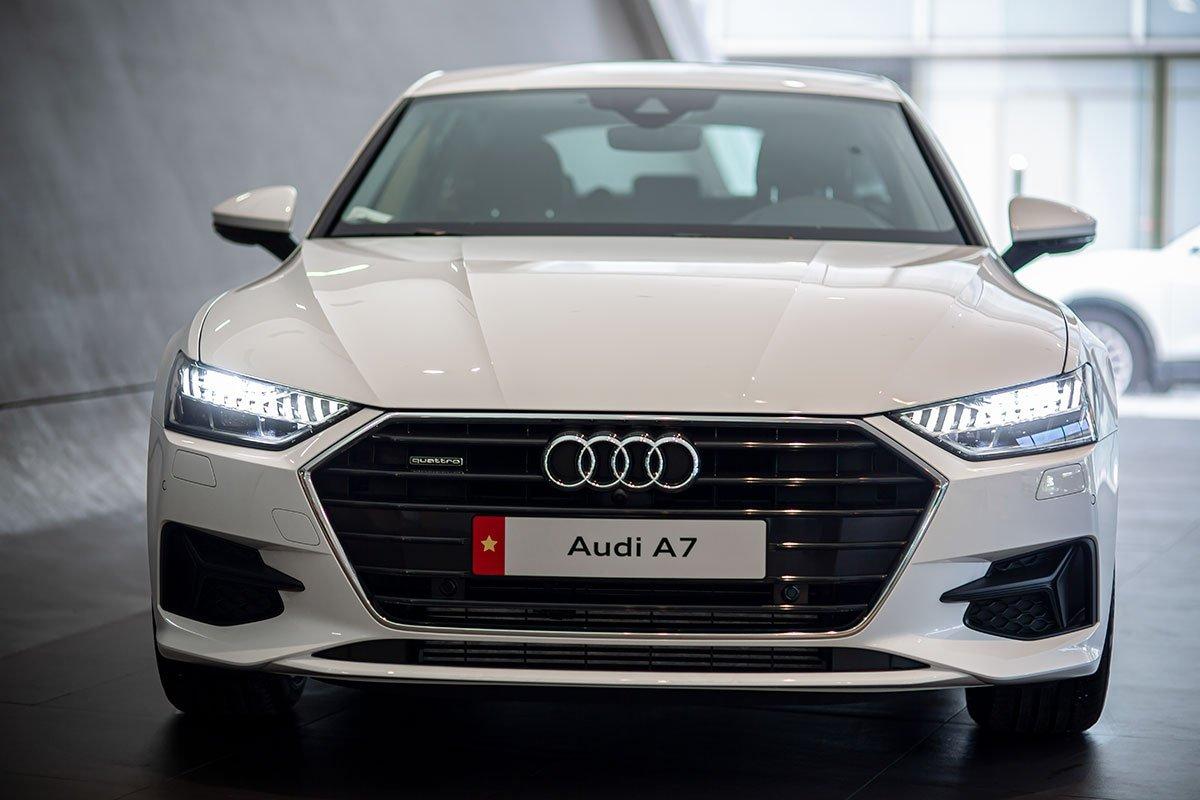 Thiết kế đầu xe Audi A7 Sportback 2020 1
