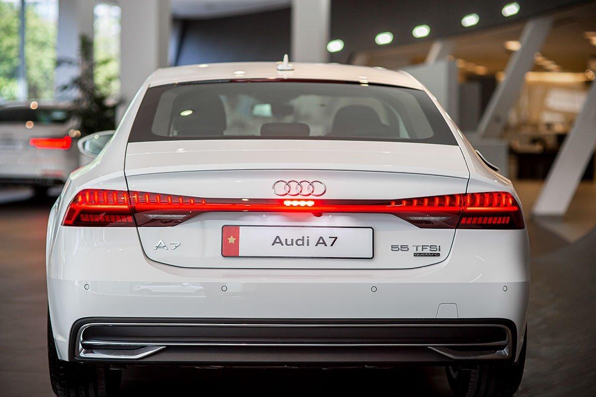 Thiết kế đuôi xe Audi A7 Sportback 2020 1