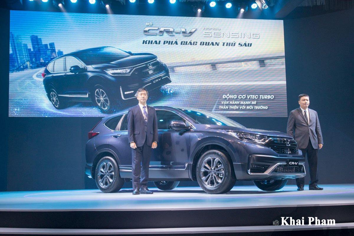 Honda CR-V 2020 đã chính thức được giới thiệu ra thị trường Việt Nam.