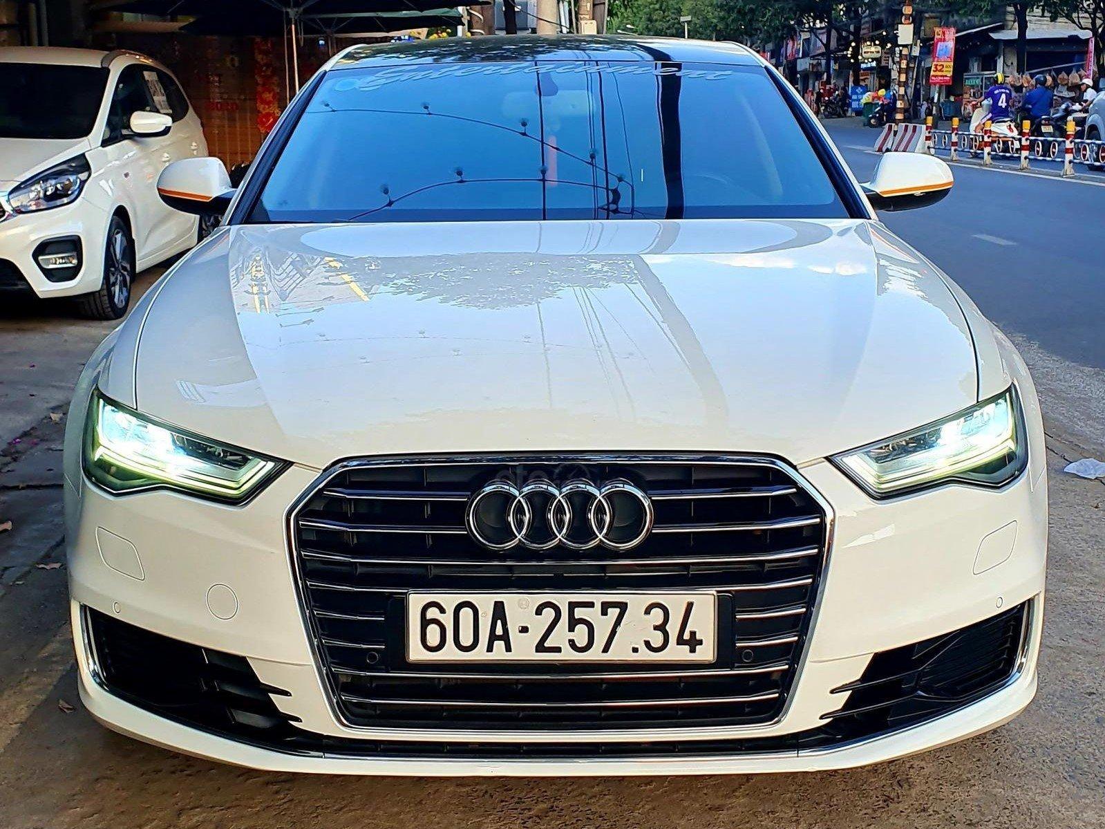 Thiết kế đầu xe Audi A6 2015 1