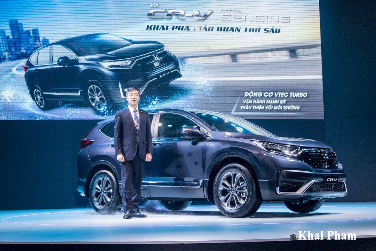 Giá xe Honda CR-V 2021 mới nhất tại Việt Nam...