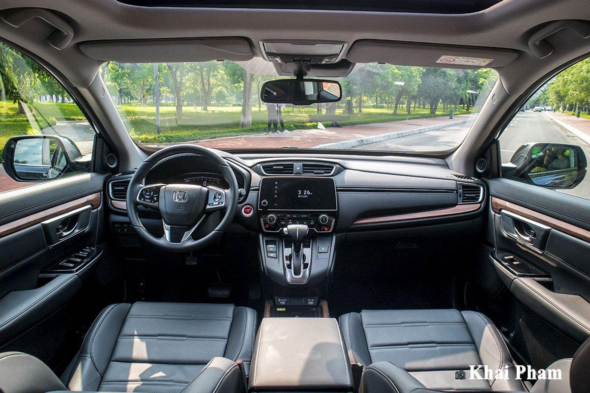 Ba phiên bản Honda CR-V 2020 vừa ra mắt Việt Nam khác nhau những gì? a6