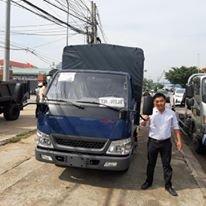 Xe tải IZ49 thùng mui bạt giá 325 triệu (3)