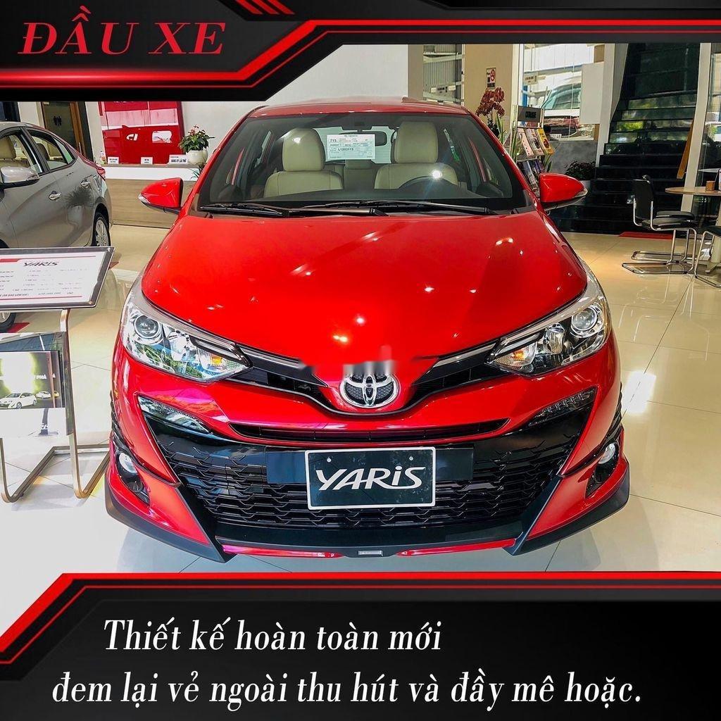 Bán xe Toyota Yaris năm 2020, màu đỏ, nhập khẩu Thái (1)