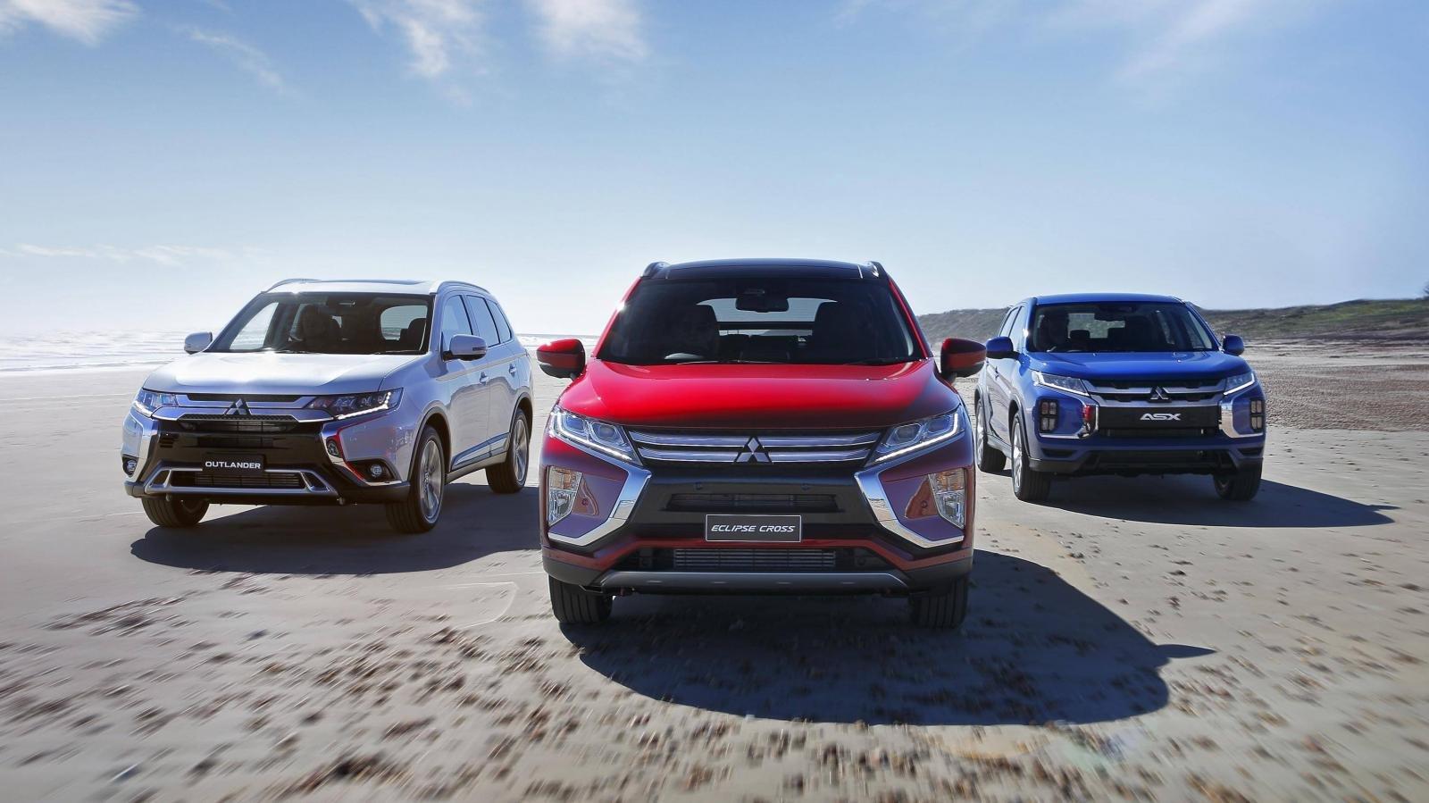 Mitsubishi tiết lộ sản phẩm mới, Outlander và Triton sắp được lên đời.