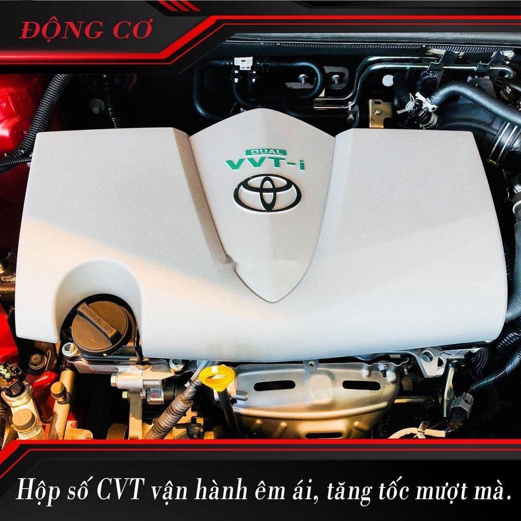 Bán xe Toyota Yaris năm 2020, màu đỏ, nhập khẩu Thái (12)