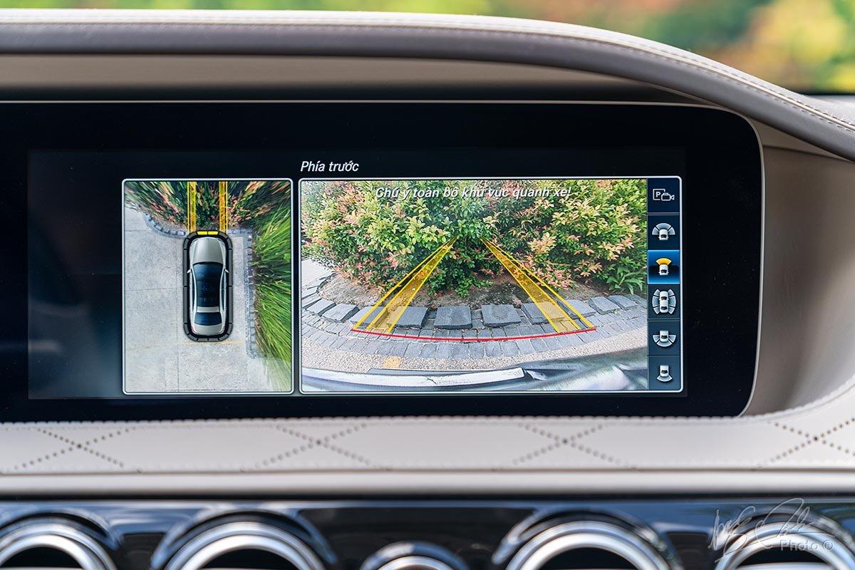 Camera 360 độ trên Mercedes-Maybach S450 2020.