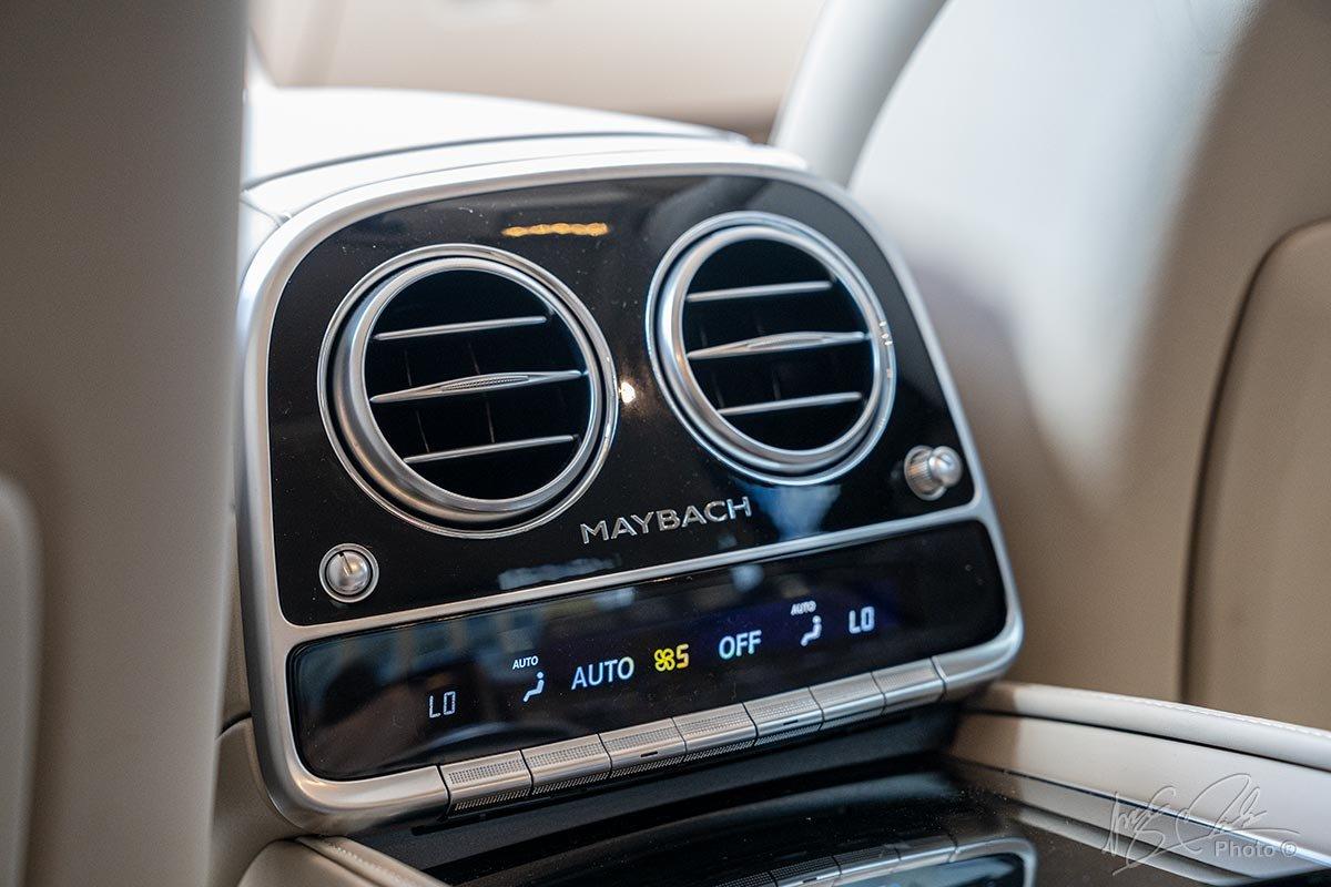 Điều hoà 4 vùng độc lập của Mercedes-Maybach S450 2020.