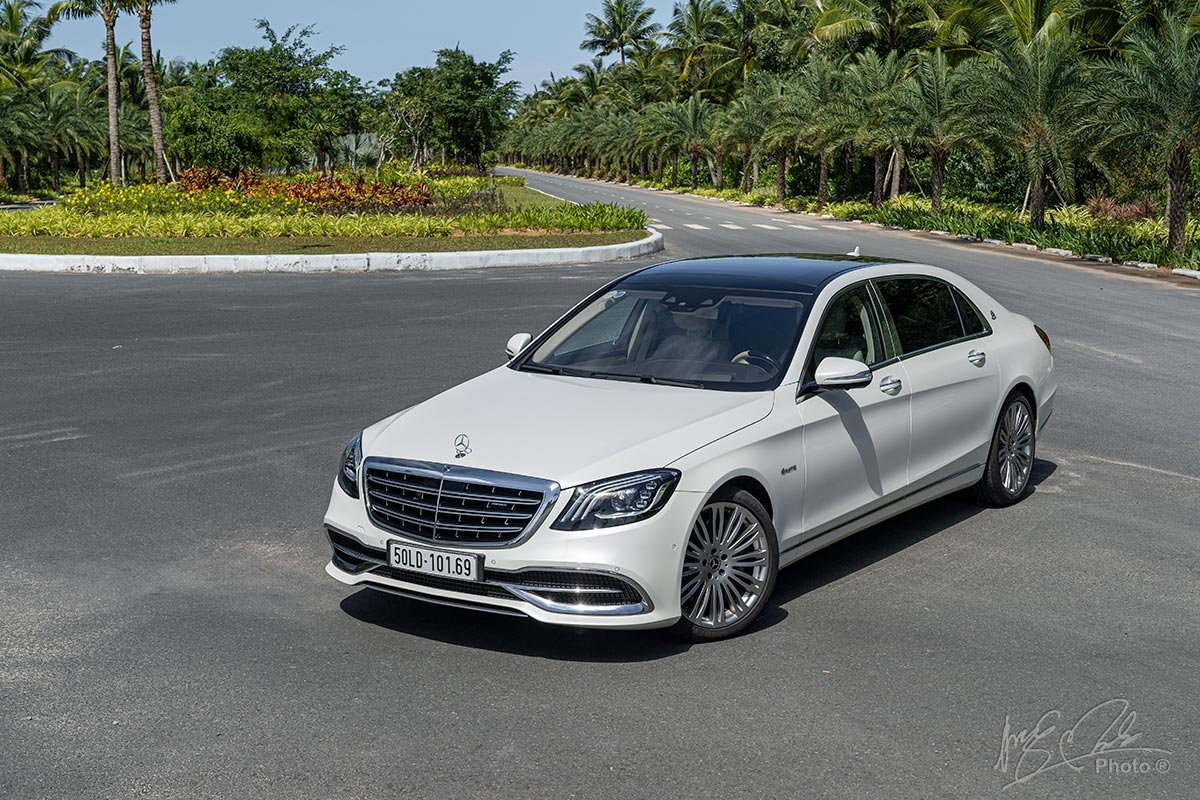 Mercedes-Maybach S450 2020.