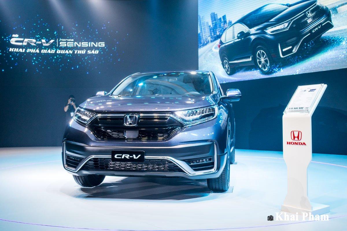 Ảnh xe Honda CR-V 2020 màu xanh