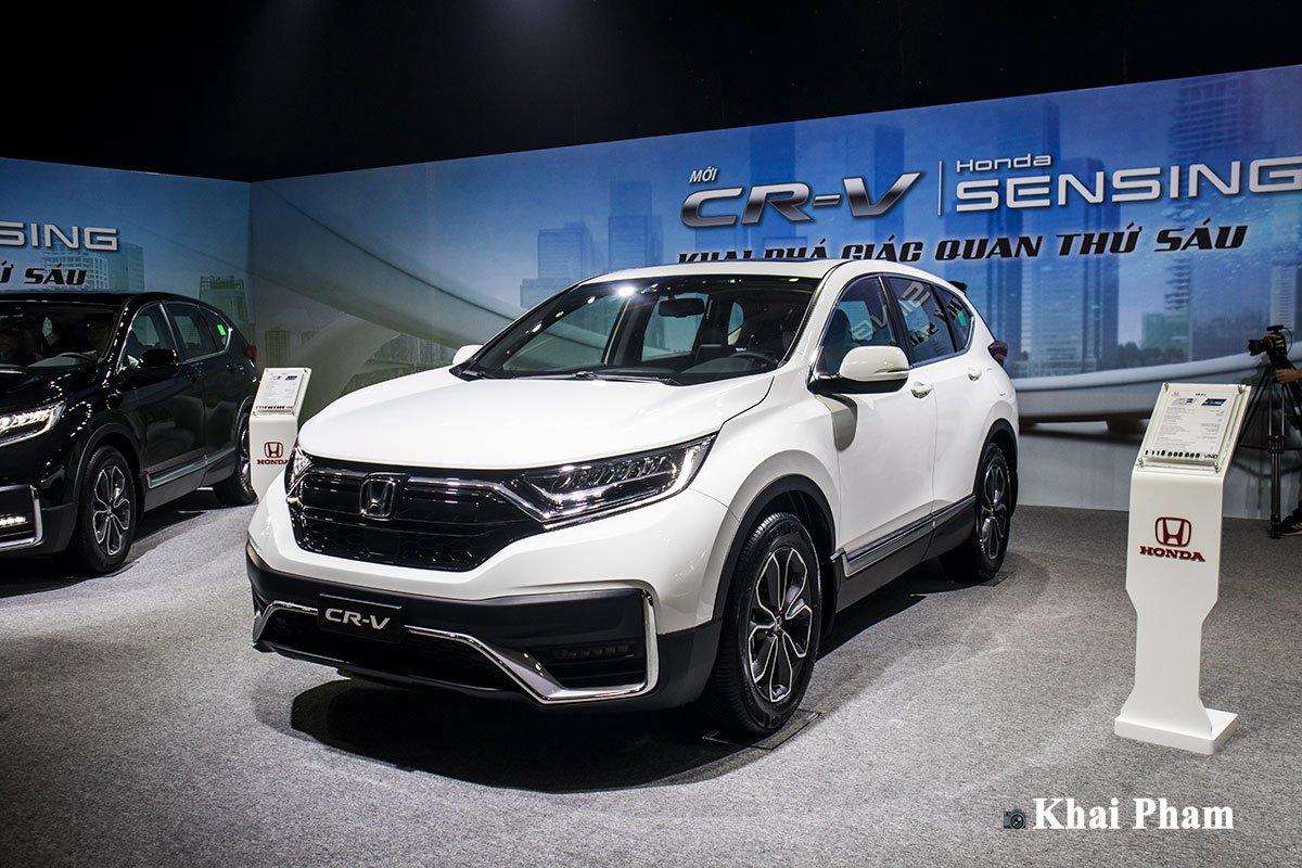 Ảnh xe Honda CR-V 2020 màu trắng