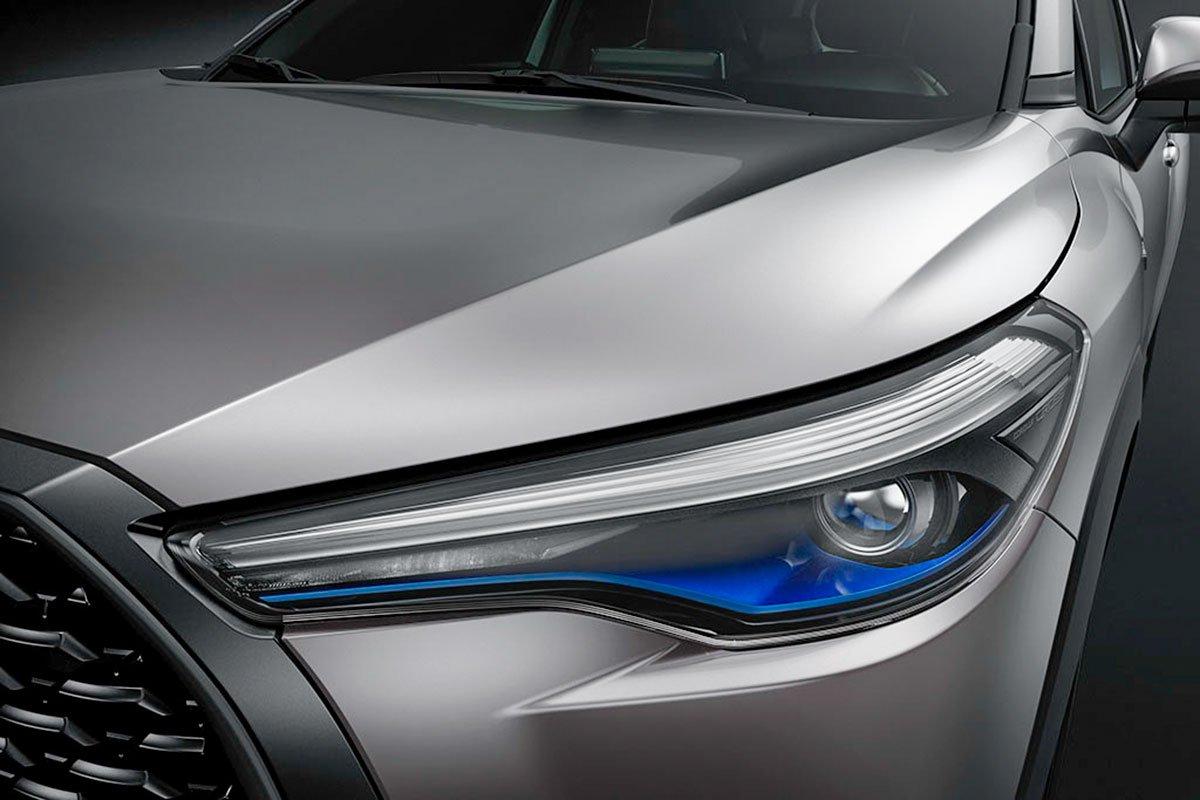 Đánh giá xe Toyota Corolla Cross 2020-2021: Cụm đèn pha 1.
