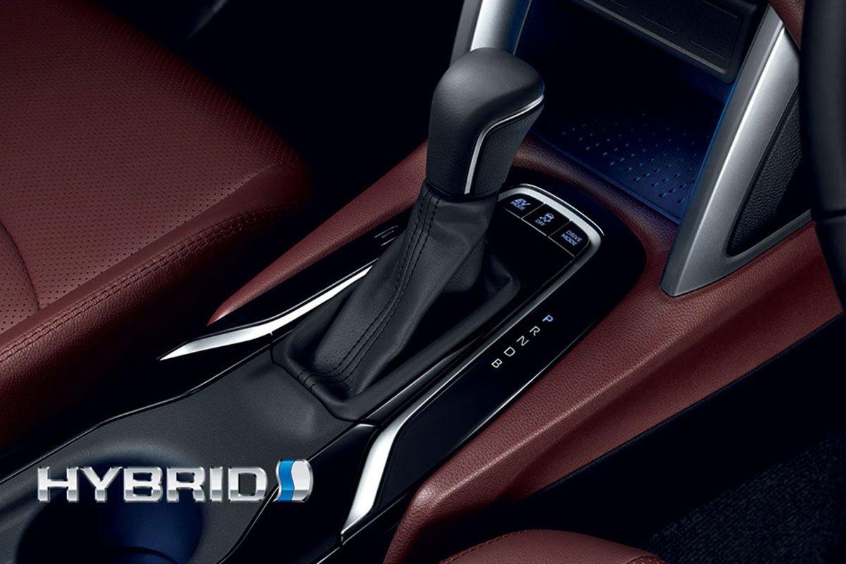 Đánh giá xe Toyota Corolla Cross 2020-2021: Hộp số tự động vô cấp CVT.