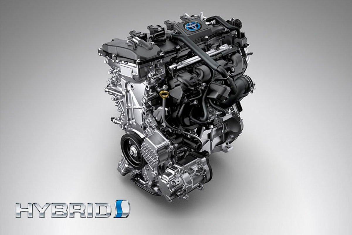 Đánh giá xe Toyota Corolla Cross 2020-2021: Động cơ hybrid.