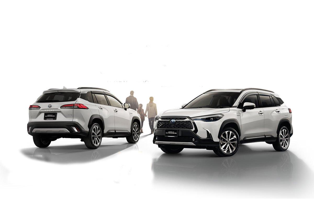 Đánh giá xe Toyota Corolla Cross 2020-2021.