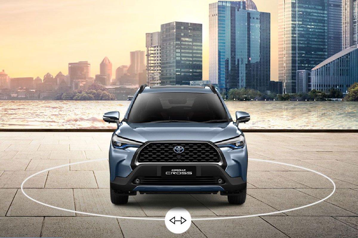Đánh giá xe Toyota Corolla Cross 2020-2021: Đầu xe.