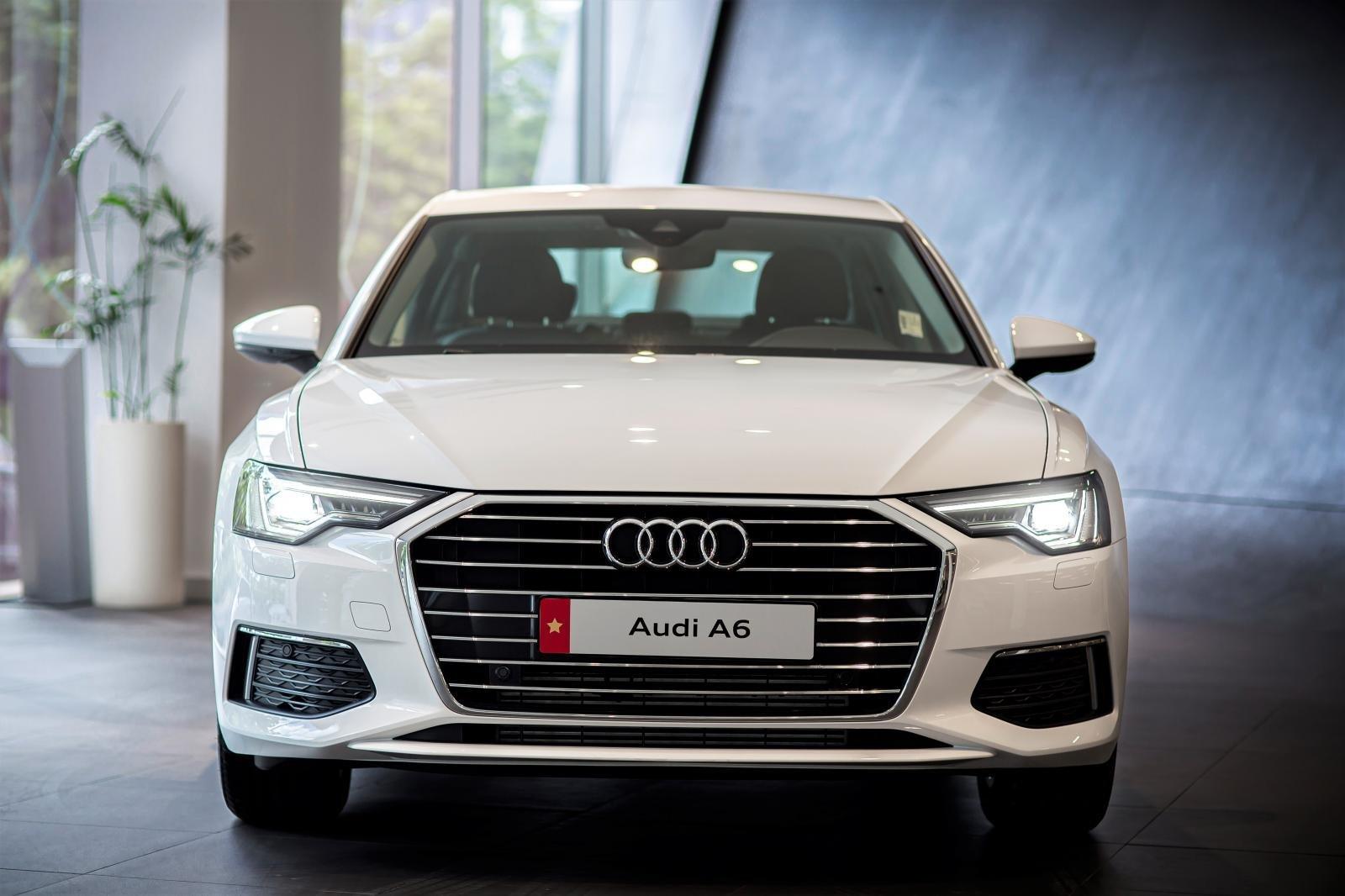 Ngoại thất xe Audi A6 2021.