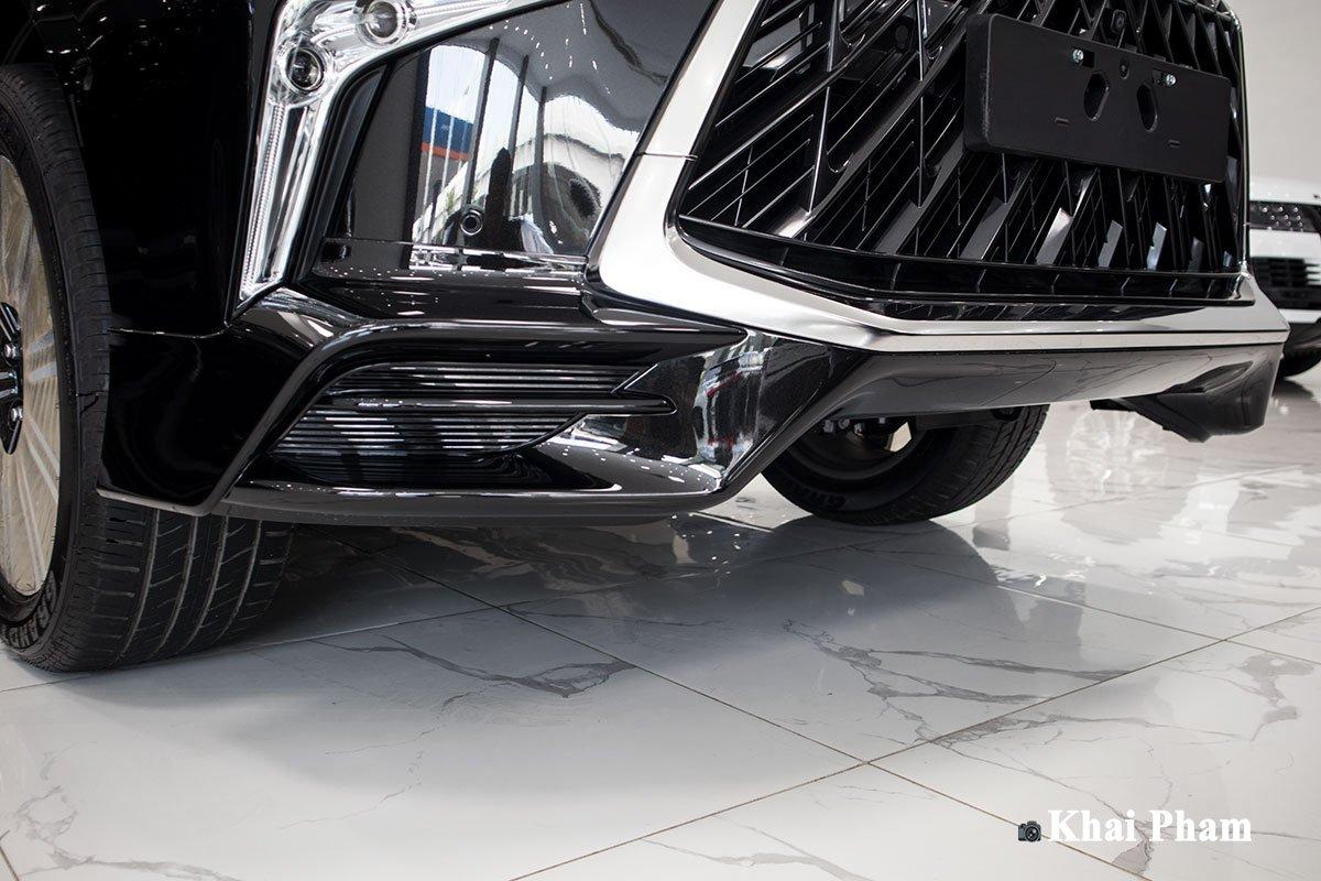 Ảnh cản trước xe Lexus LX570 2020 bầu trời sao như Rolls-Royce a1