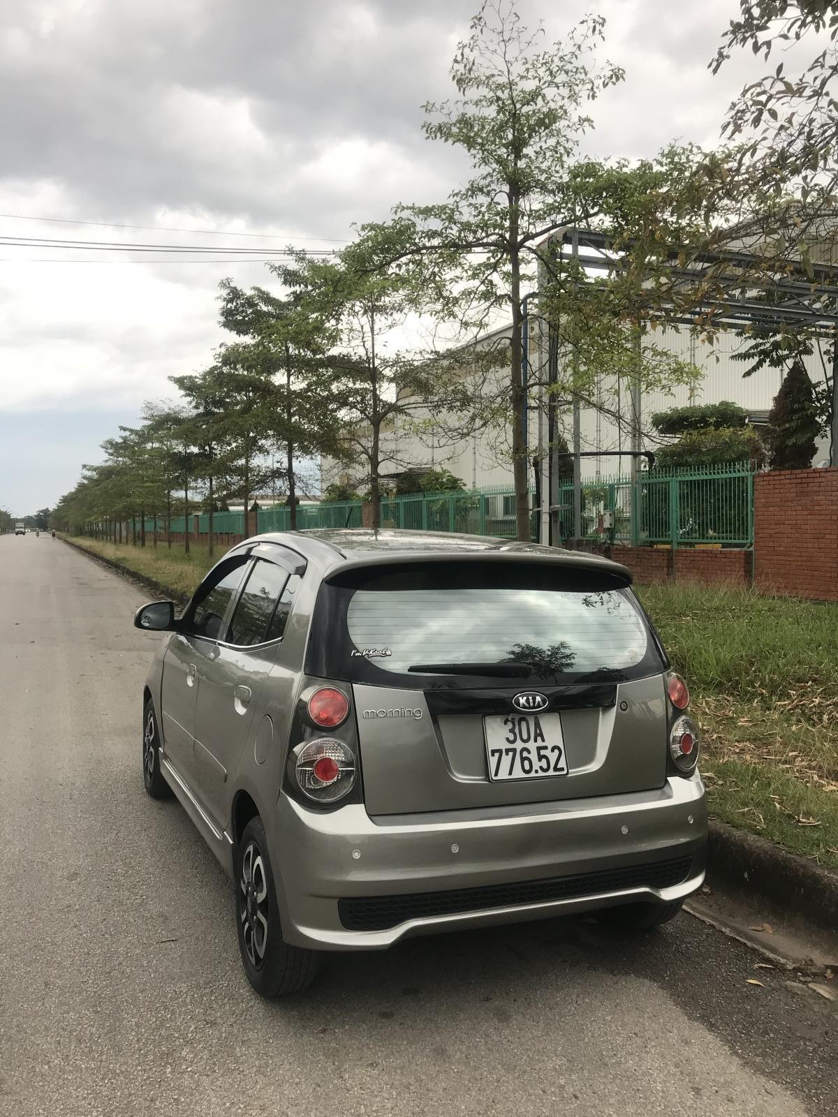 Bán Kia Morning năm sản xuất 2012, xe có lắp đủ camera trước-sau, cảm biến tiến-lùi, đầu DVD - 4loa (3)