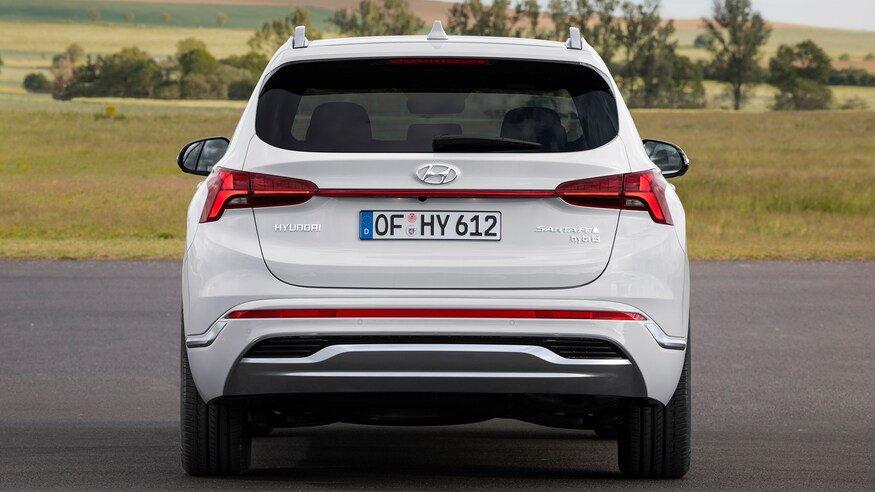 Đuôi xe Hyundai Santa Fe 2021 - 1.