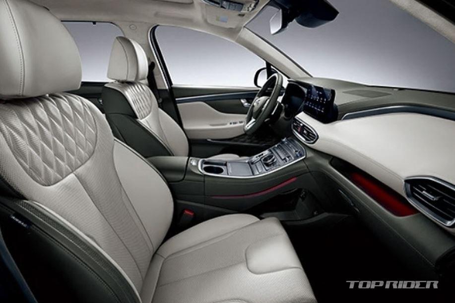 Bảng táp-lô Hyundai Santa Fe 2021 - 2.