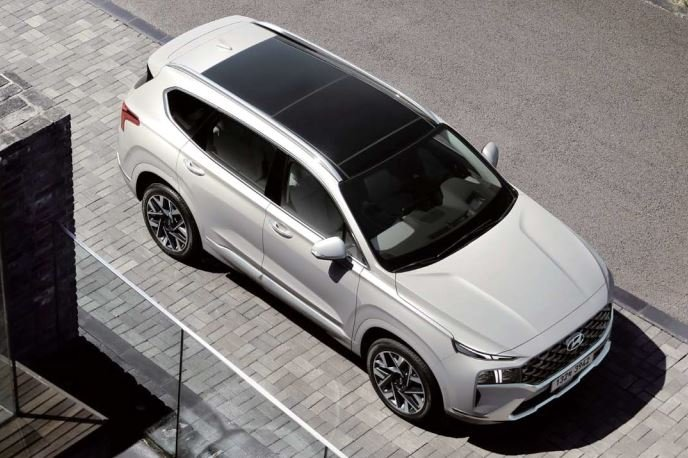 Thân xe Hyundai Santa Fe 2021 - 2.