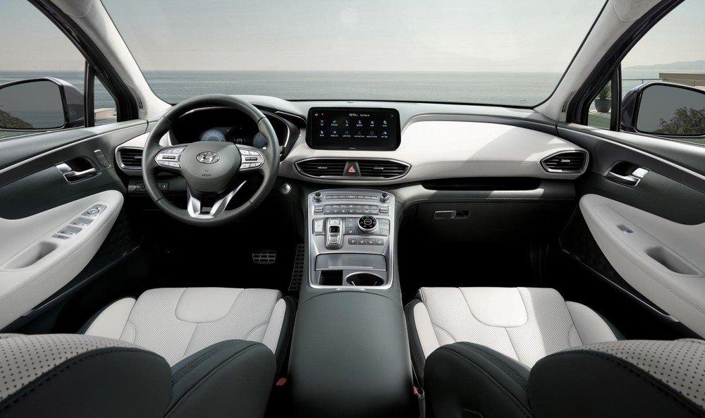 Bảng táp-lô Hyundai Santa Fe 2021 - 1.