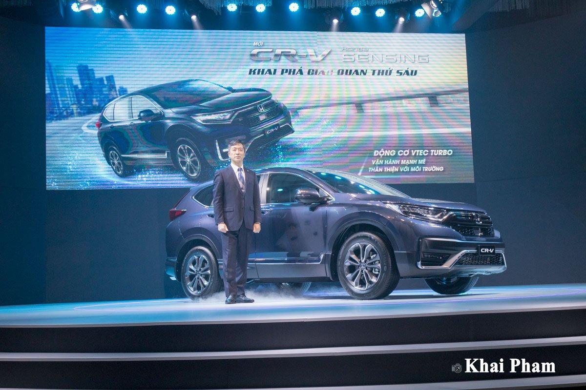 Thông số kỹ thuật xe Honda CR-V 2020