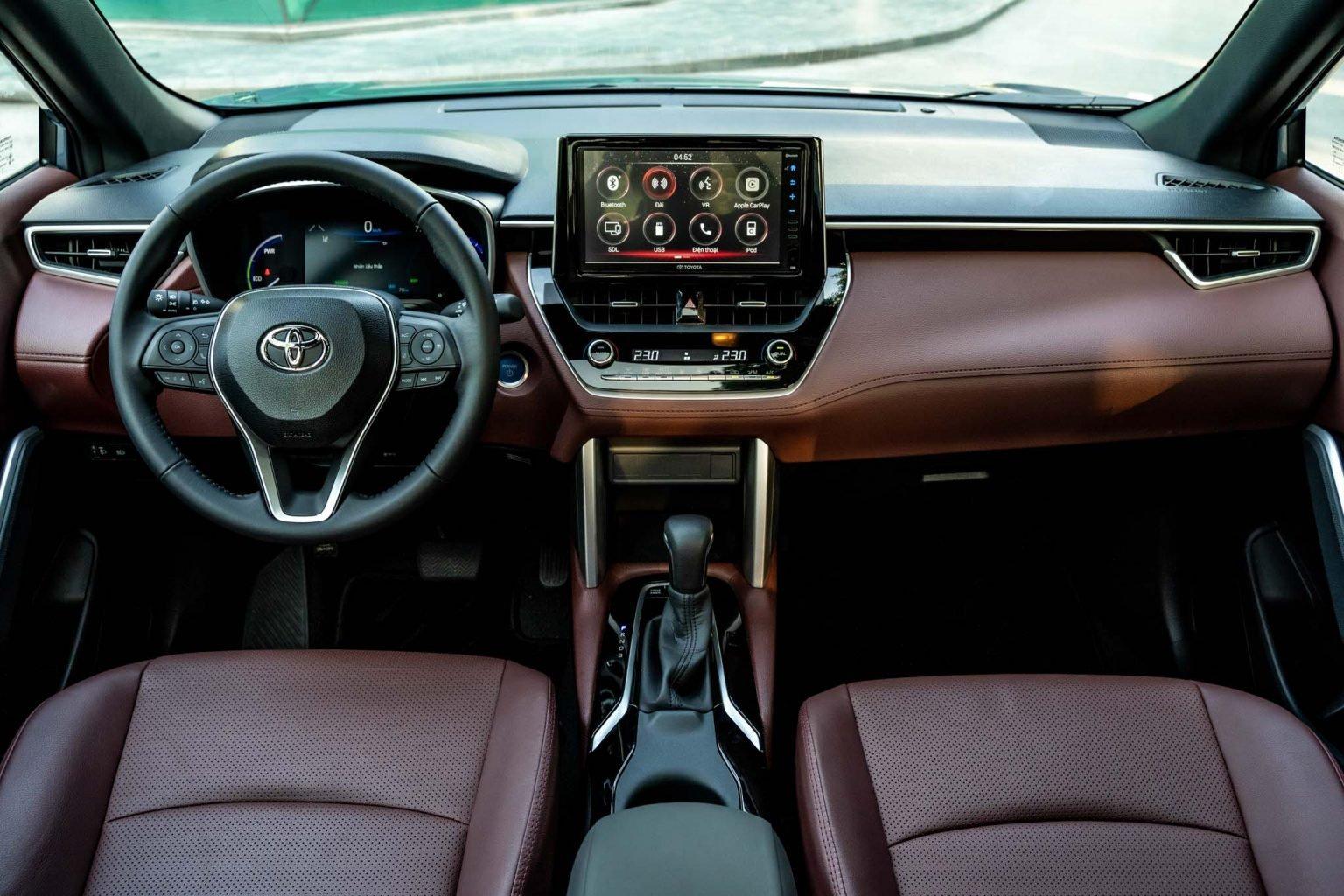 """Toyota Corolla Cross - """"Át chủ bài"""" chính thức ra mắt thị trường Việt Nam - Ảnh 5."""