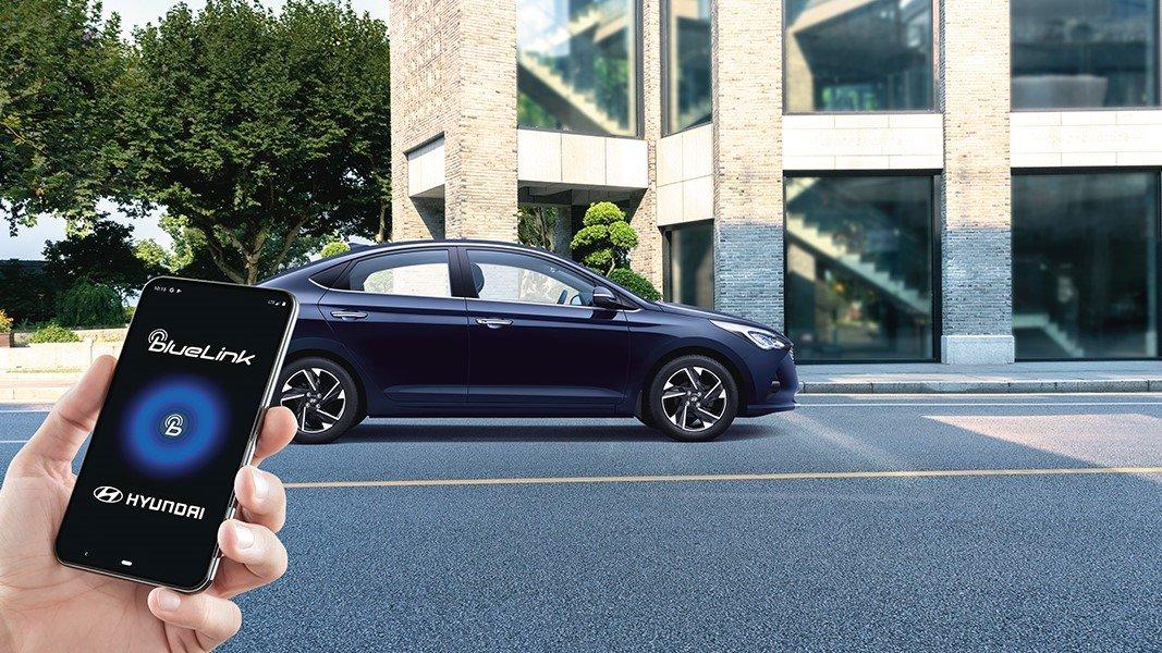 Hệ thống Bluelink trên Hyundai Accent 2020...