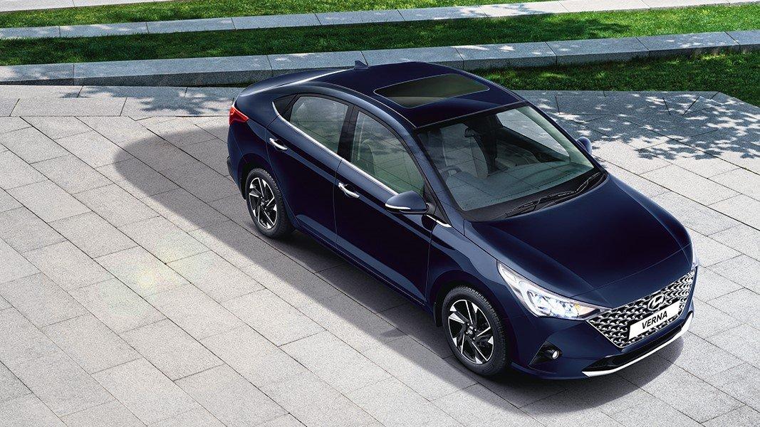 Ngoại hình Hyundai Accent 2020 facelift...