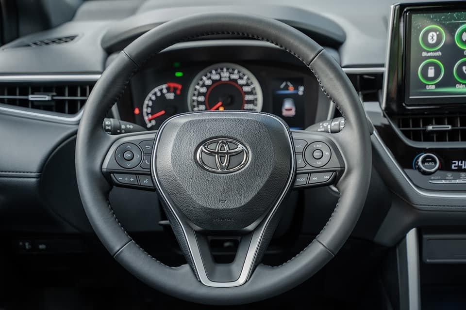 Ảnh vô-lăng xe Toyota Corolla Cross 2020