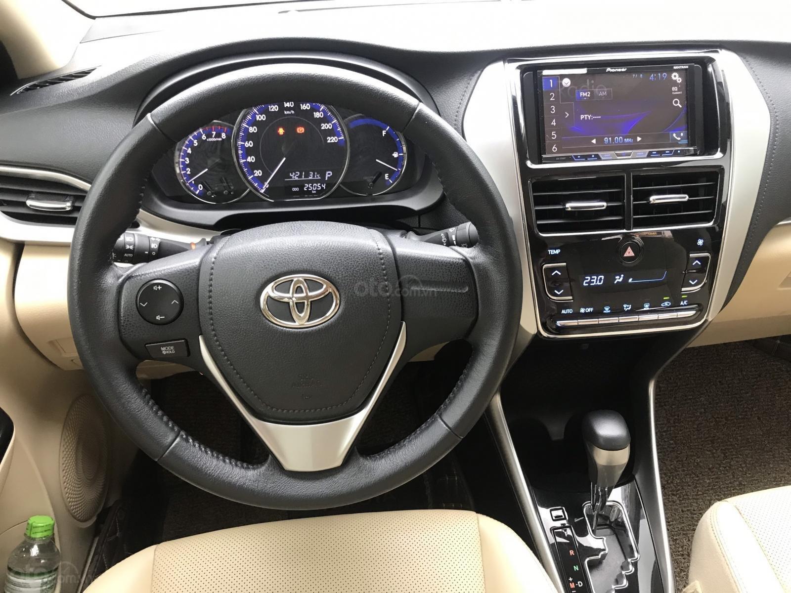 Cần bán gấp Toyota Vios đời 2019, 558 triệu (9)